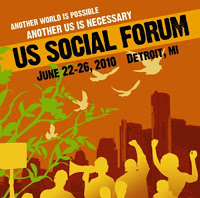 Reflections from the U.S. Social Forum