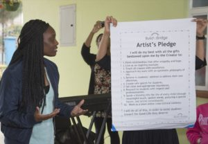 Stacey - Artists Pledge