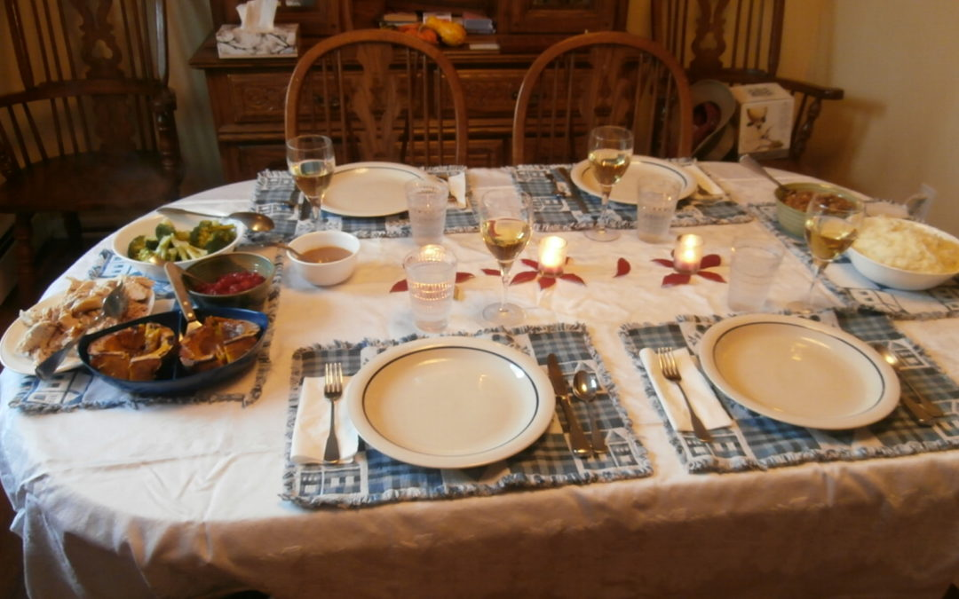 Gratitude, Grief and Remorse at Thanksgiving